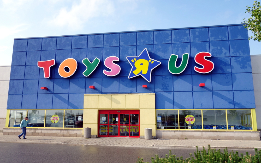 There's officially an opening for chief toy tester at Toys R Us