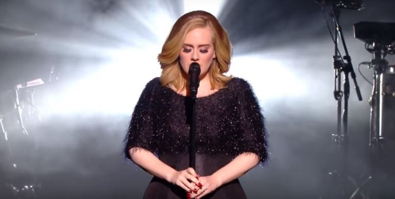 "Adele's live version of ""Hello"" is exactly what we need to start our week"