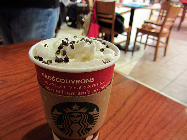 The cozy drink you'll want to order from Starbucks' secret menu
