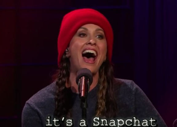 Alanis Morissette updates 'Ironic' for the Internet age