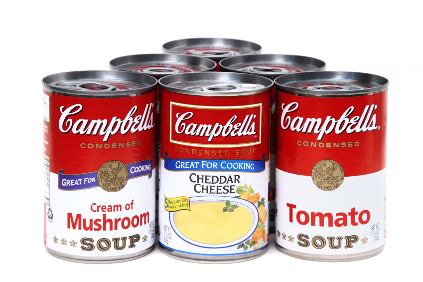 Campbell's Soup is changing their recipes big time