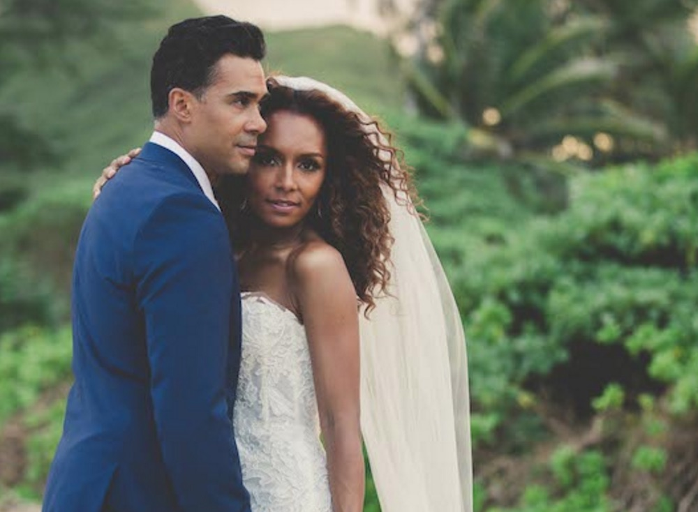 Loving Janet Mock's gorgeous, gorgeous wedding photos and love story