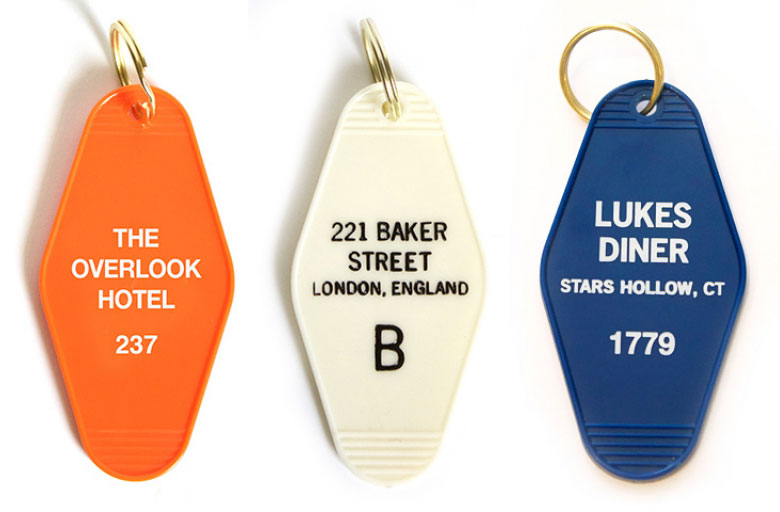 Show off your fandom allegiance with these awesome key tags