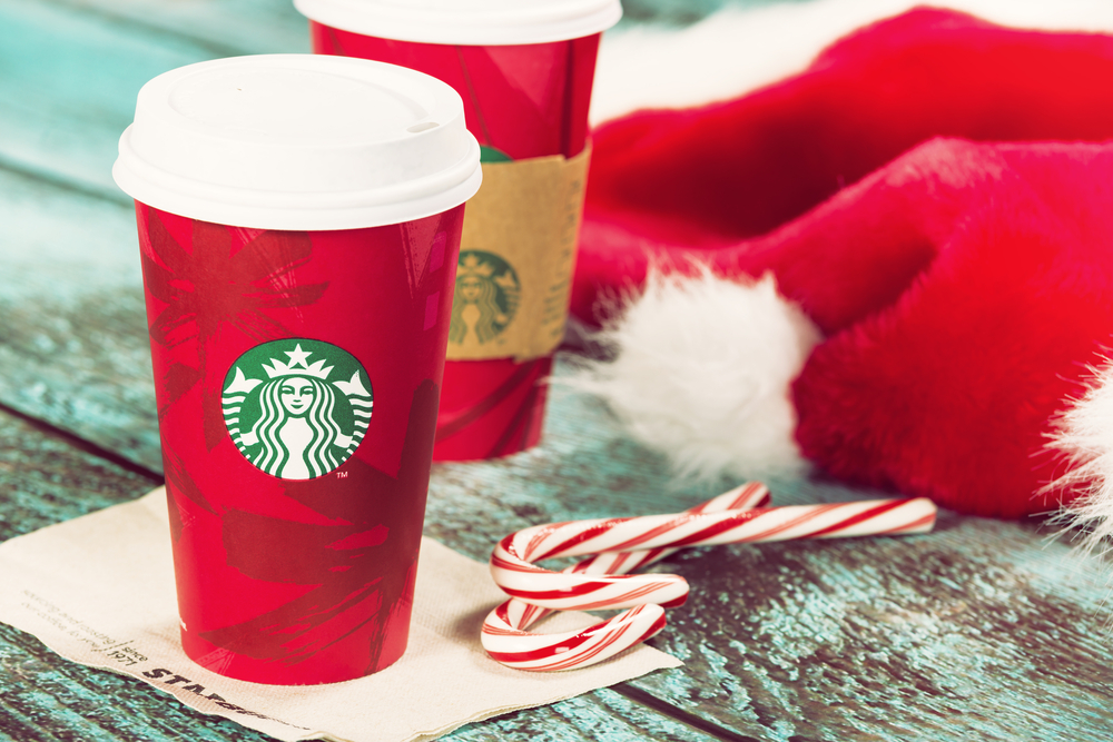 All the delicious holiday Starbucks drinks that aren't available in the States. Noooooo!