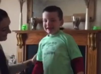This little boy's reaction to learning he's a big brother might make your heart explode with joy