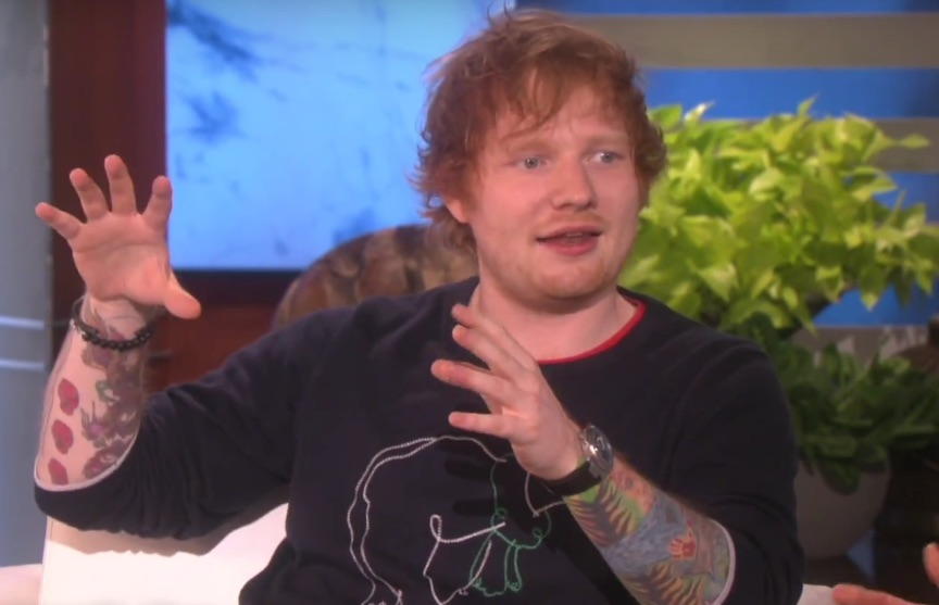 Ed Sheeran finally explained that ginormous lion tattoo and it's actually really meaningful