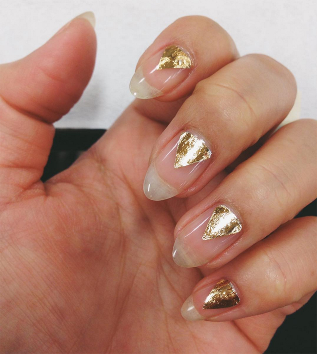 Nails of the Day: Shiny and new