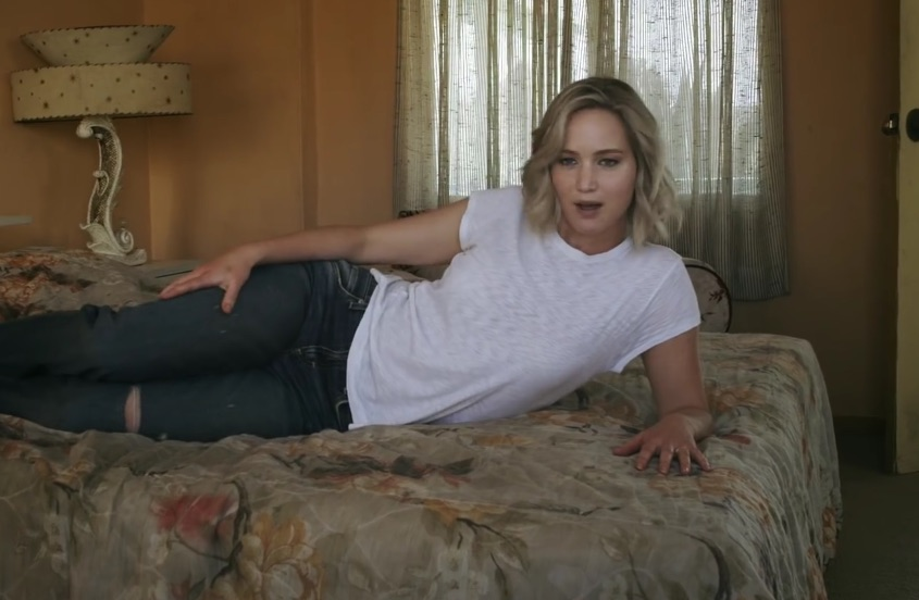 LOLing at the behind-the-scenes vid of J. Law's 'Vogue' shoot