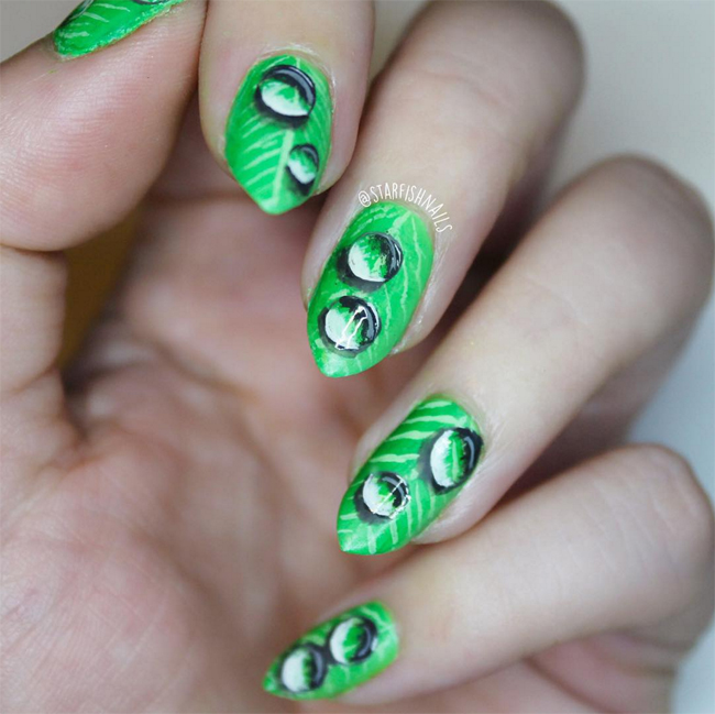 Nails of the Day: Drip drop