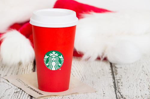 Tis' the weekend to get free holiday drinks from Starbucks. Here's how!