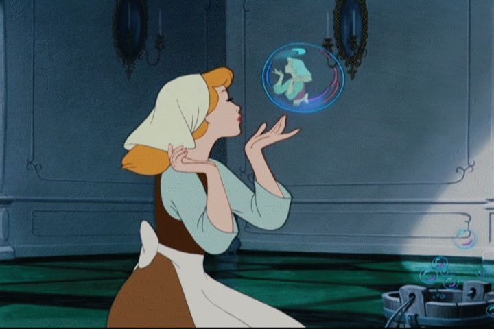 Whoa — this trippy deleted scene would have featured an army of Cinderellas