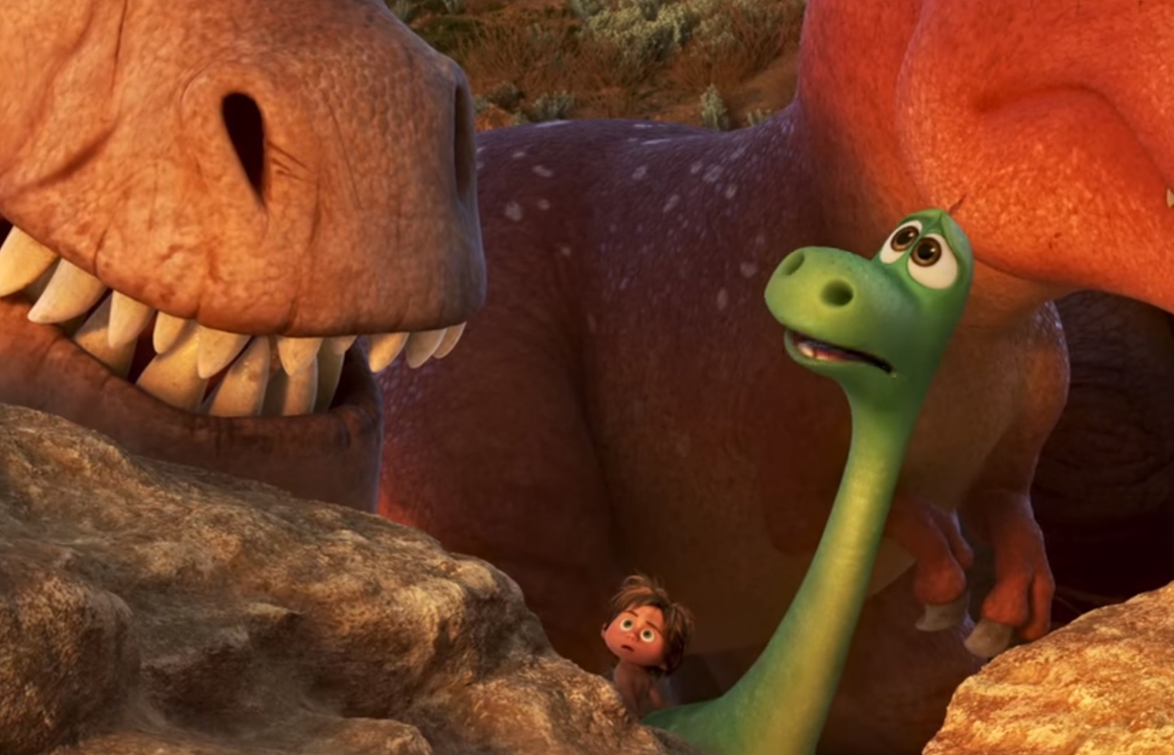 Pixar has been hinting at 'The Good Dinosaur' for years — here are all the clues we missed