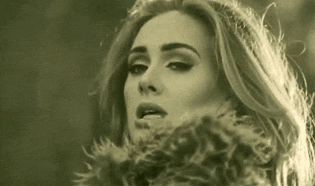 Adele just wants to make sure we all know she's over her ex