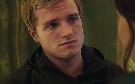Josh Hutcherson is Team Gale, so everything we knew about reality might be wrong