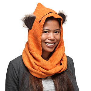 Things we didn't know we needed: This hooded Ewok scarf