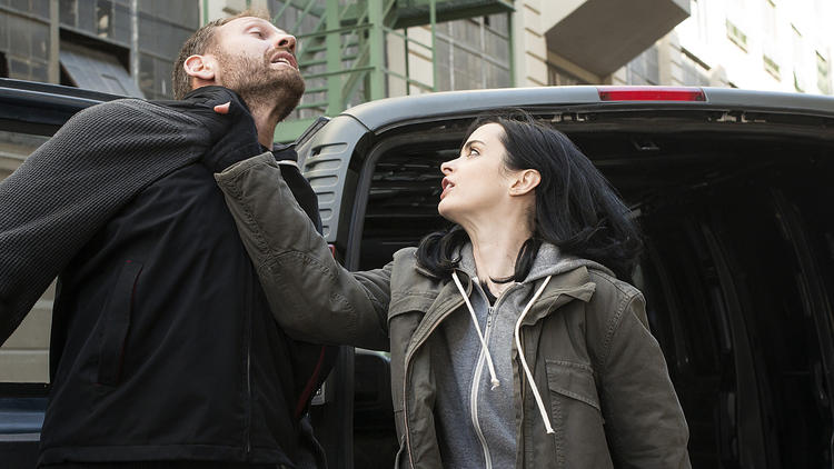 Krysten Ritter just spilled so many 'Jessica Jones' secrets, our heads are spinning