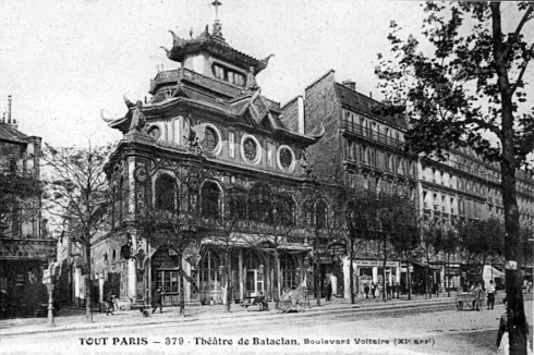 The Bataclan theater will re-open, even if it takes years