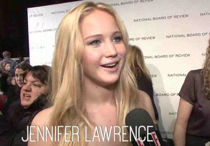 Today's best #tbt: Jennifer Lawrence being awkward and adorable in this 2011 interview