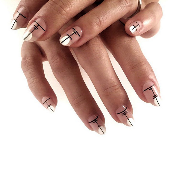 Nails of the Day: Kanji inspired