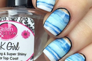 Nails of the Day: Stormy seas