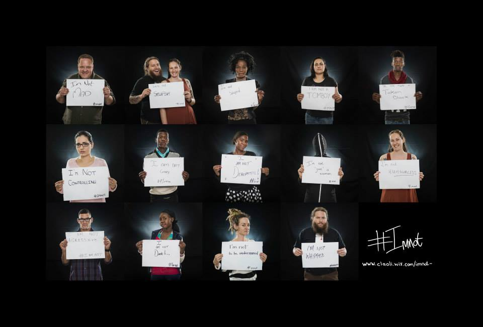 An interview with Claudia Hirtenfelder about her powerful #Imnot campaign