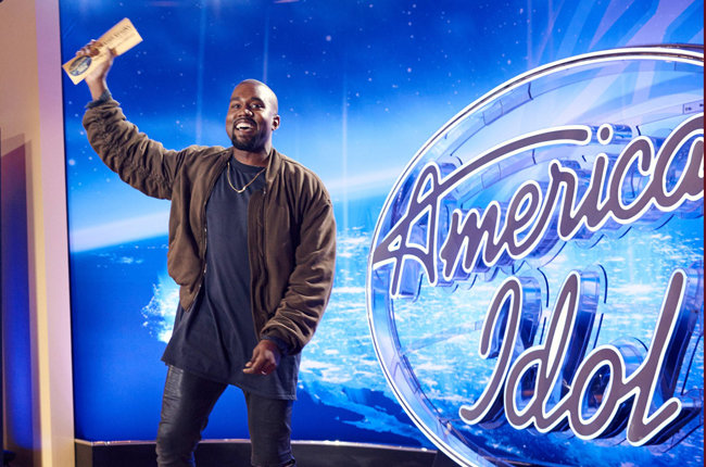 That one time Kanye auditioned for American Idol