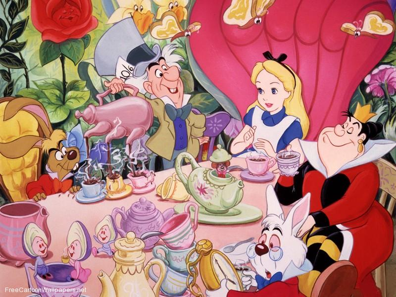 13 necessities for an 'Alice In Wonderland' mad tea party