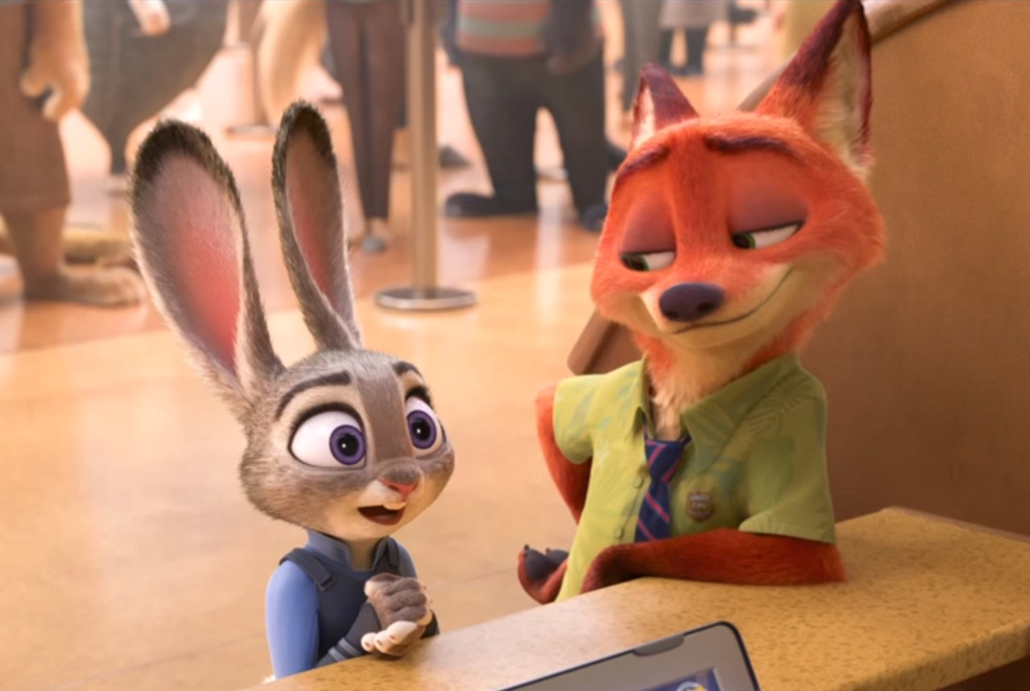 Disney just released the first trailer for 'Zootopia' and we're already in love