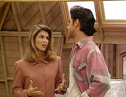 Aunt Becky addresses that 'Full House' attic mystery