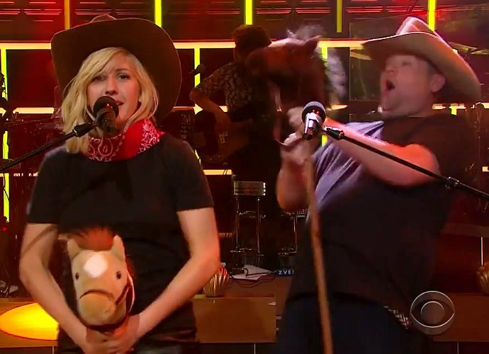 "Ellie Goulding and James Corden just proved ""Love Me Like You Do"" slays in any genre"