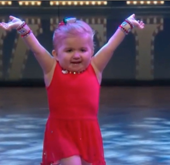 Why this little girl dancing with the Rockettes is bringing us to tears