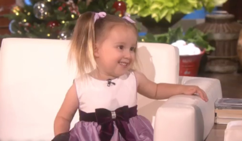 This 3-year-old just schooled Ellen on her show because she's the smartest preschooler in the world