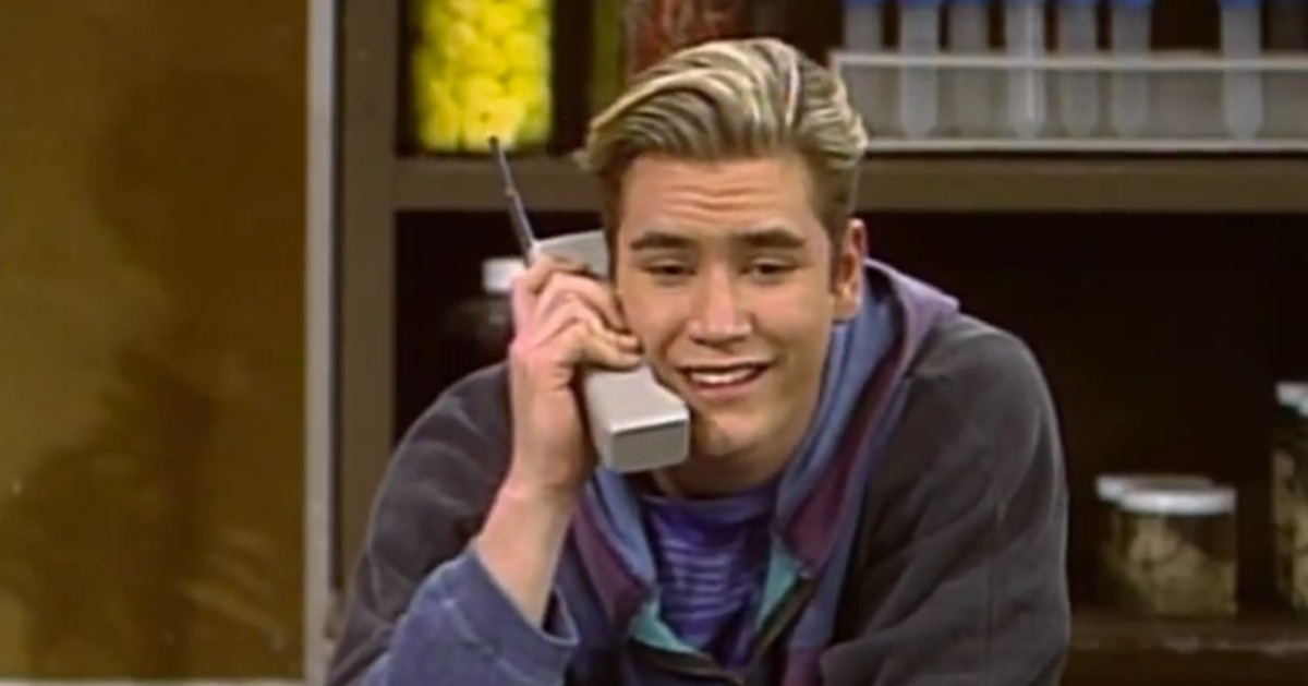 Wear a little piece of Zack Morris around your neck