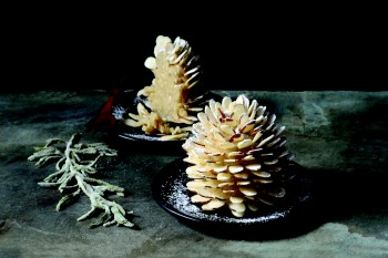 These pinecones are actually delicious holiday cakes. Really.