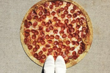 Everytime you look down you're gonna want pizza