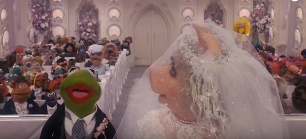 Here's four minutes of iconic movie wedding scenes, just because