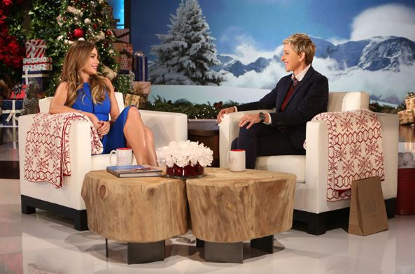 Sofia Vergara told Ellen all about her wedding and we're hanging on her every word