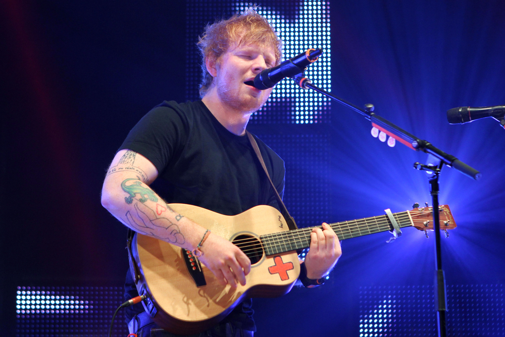 Ed Sheeran just wrote a note that makes us all want to lose our IDs