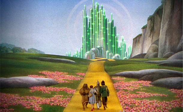 These pictures from a closed 'Wizard of Oz' theme park are ...  These pictures ...