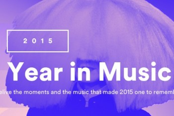 Find out what you listened to most in 2015 with Spotify's Year in Music