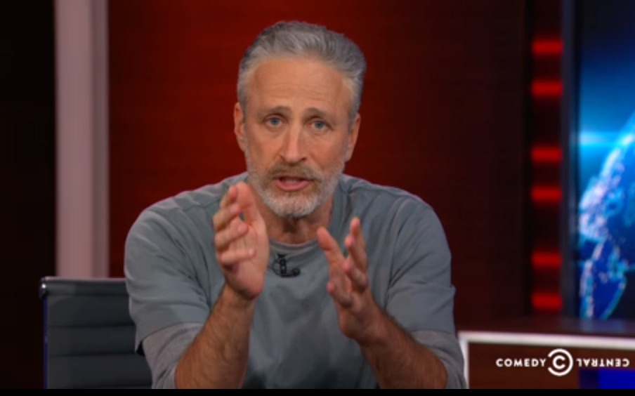 Jon Stewart returned to 'The Daily Show' last night with a very important message