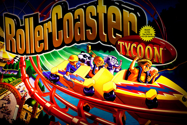All the emotional struggles we faced when playing Roller Coaster Tycoon