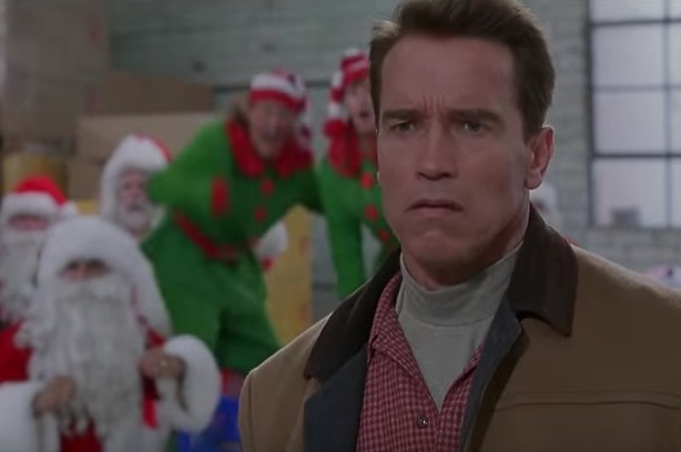 Can you spot the former 'SNL' cast member in 'Jingle All the Way?'