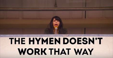 CollegeHumor just shared a video that sets the record straight about hymens. Yes, hymens.