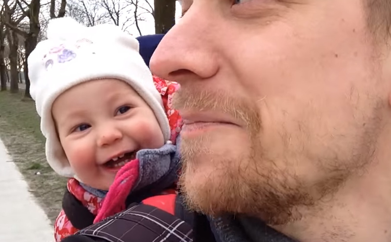 Listen to this baby laugh uncontrollably. C'mon, you deserve it.
