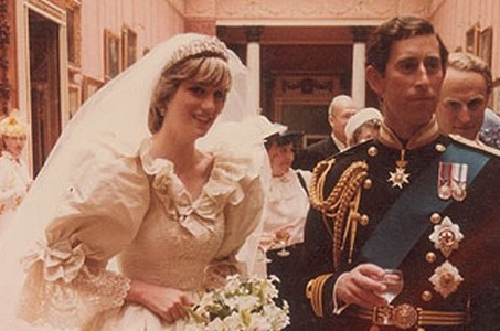 You could own a slice of Princess Diana's 34-year-old wedding cake