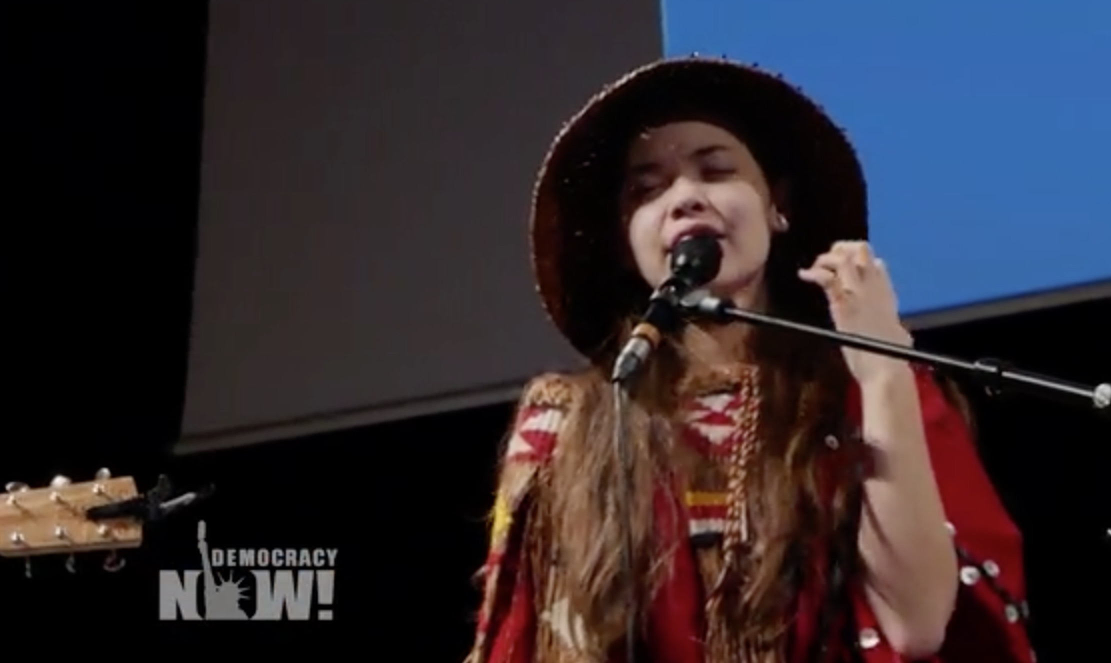 This 14-year-old First Nation advocate has a song that will move you to tears