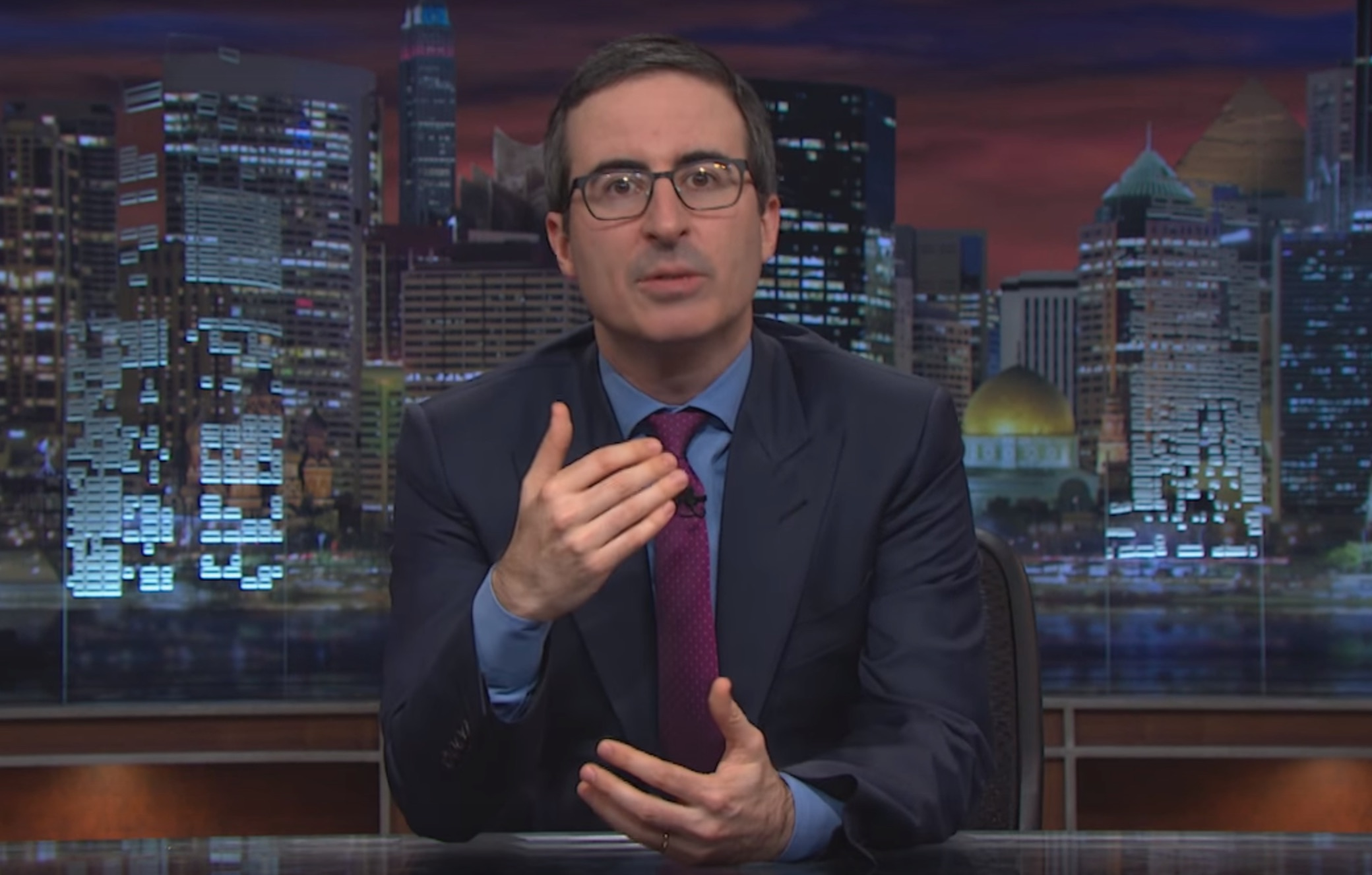 John Oliver tells us what to do with those disappointing Christmas gifts