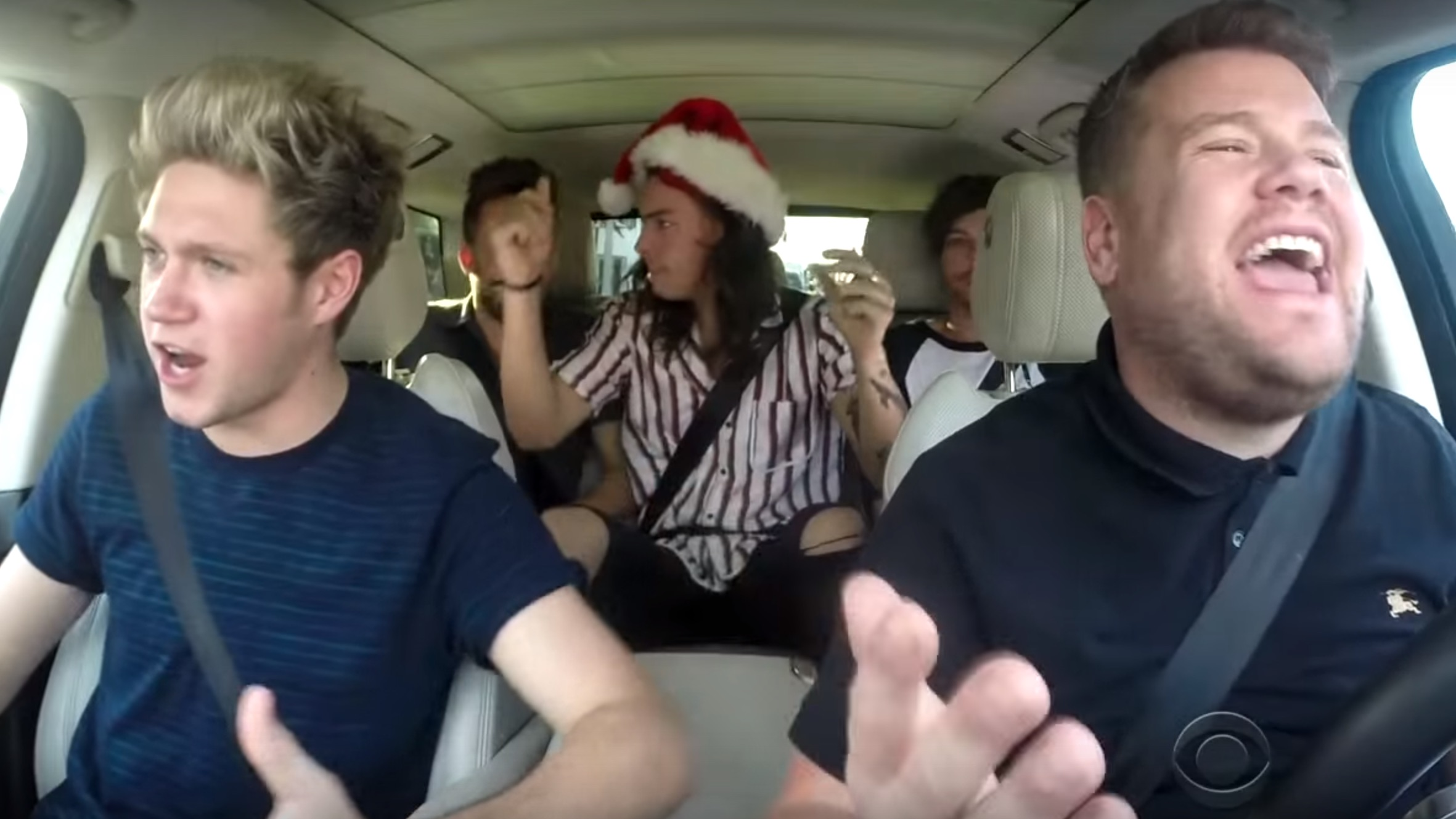James Corden had all of his guests help with this amazing Christmas Carpool Karaoke