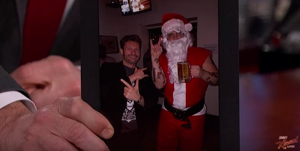 Ryan Seacrest's office holiday party got awkward, because they all do